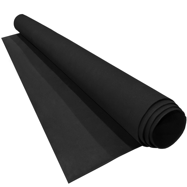 EVA Cosplay Foam Roll 48in x 60in x 2mm (Black) LAZY DOG WAREHOUSE LDW232