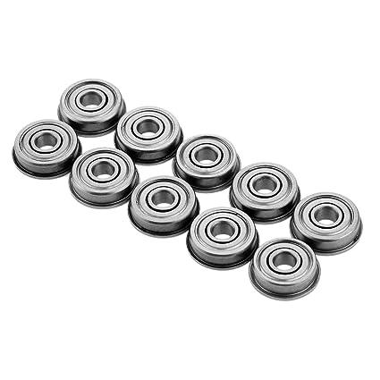 10 rodamientos de Brida 4 x 13 x 4 mm para rodamientos de ...