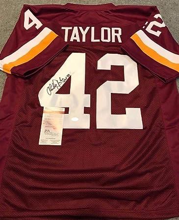 Charley Taylor Autographed Signed Inscribed Washington Redskins Jersey - JSA  Authentication 75c4bb08b
