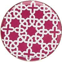 Porland Morocco Ds.5 Fuşya Düz Tabak 20 cm, Porselen