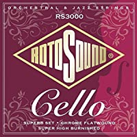 Rotosound RS3000 Flatwound Superb Cello Strings