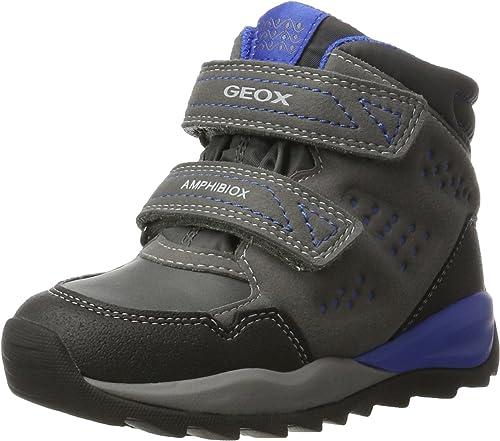 Geox J Orizont ABX A, Botas de Nieve para Niños