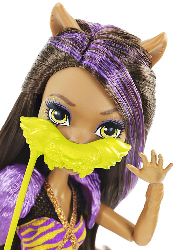 Amazon Monster High Dance The Fright Away Clawdeen Wolf Doll