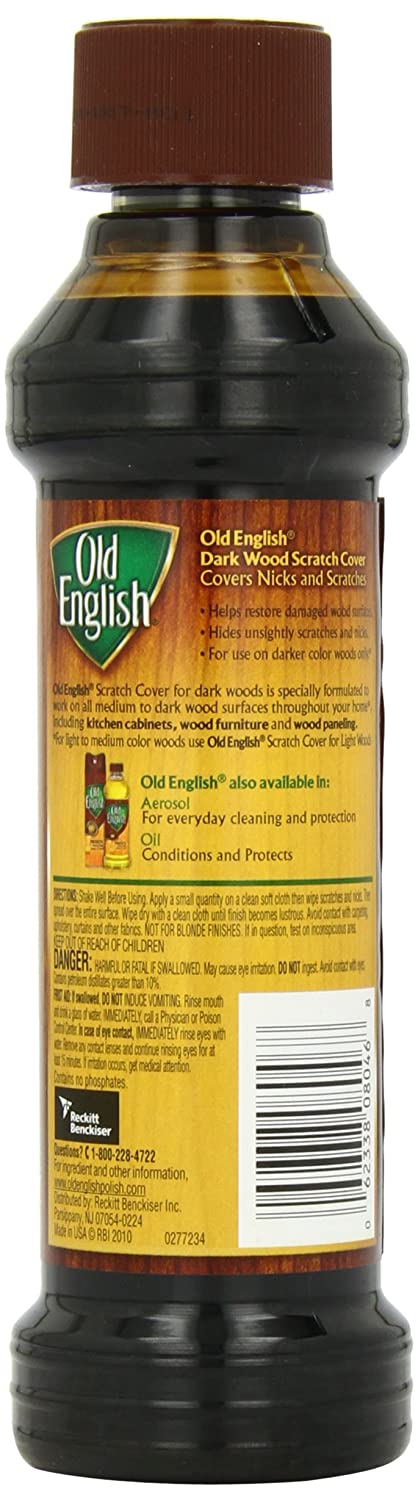 Amazon com  Old English Scratch Cover For Dark Woods  8 fl oz Bottle  Wood  Polish  Health   Personal Care. Amazon com  Old English Scratch Cover For Dark Woods  8 fl oz