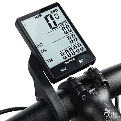 LCD Wireless Bicycle Cycle Computer Cadence Bike Odometer Speedometer Stopwatch