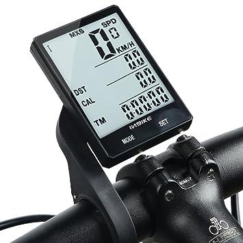 3fd953679 Inbike Bike - Velocímetro inalámbrico multifunción para bicicleta,  impermeable, con cronómetro, retroiluminación, 2,8 pulgadas, color Standard  Wireless: ...