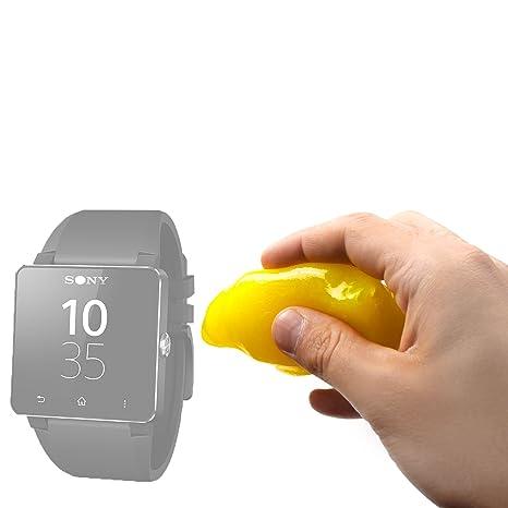 Duragadget Accessoire de nettoyage antibactérien pour votre montre connectée Pebble, Polar Loop, Sony SmartWatch et bracelet Sony SmartBand SWR10: ...