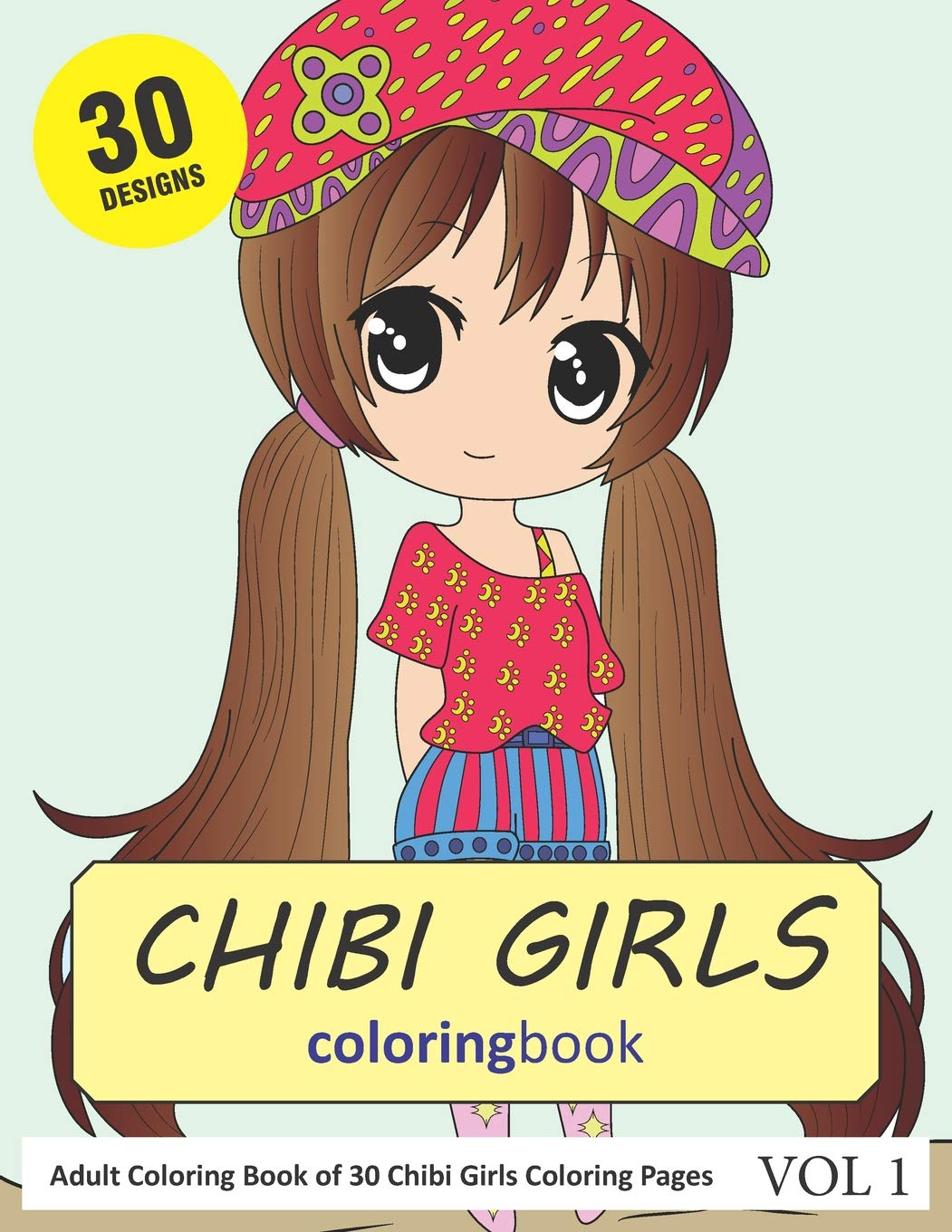 Chibi Girl Coloring Pages