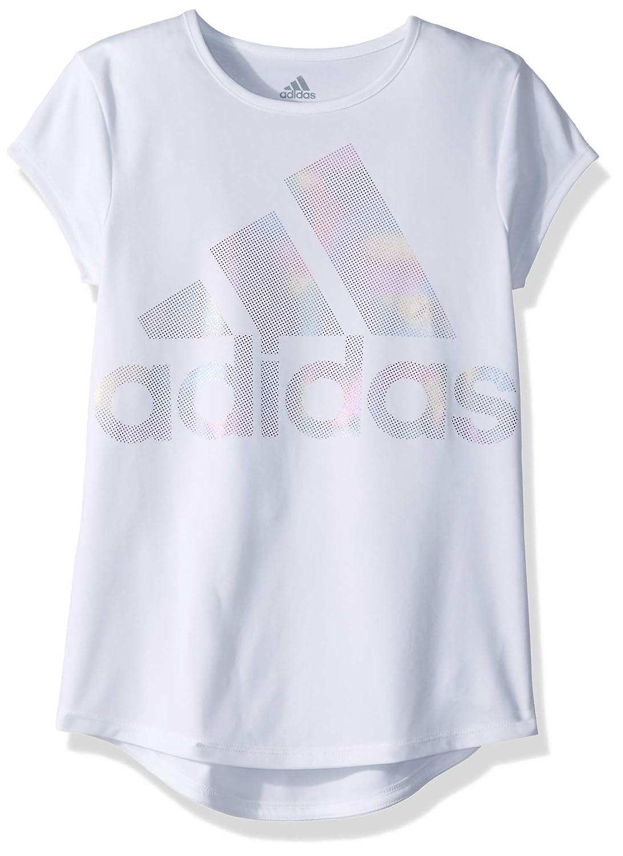 03f1cf037 Amazon.com: adidas Girls' Short Sleeve Graphic Tee Shirts: Clothing