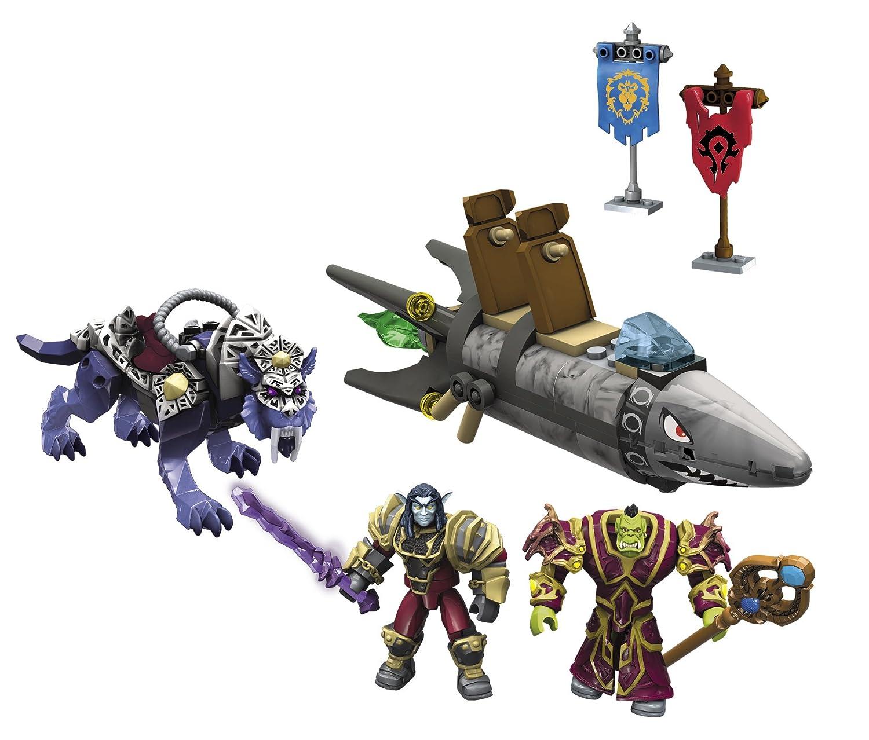 Mega Bloks World of Warcraft Barren Lands Chase Mattel 91025 91025U/_