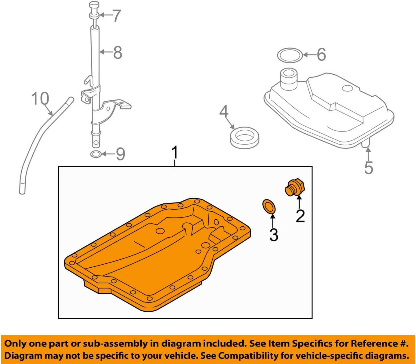 2006-2013 Mazda3//5//6//CX-7 AUTOMATIC Transmission Oil Pan Replacement GENUINE OEM FSL0-21-51XB