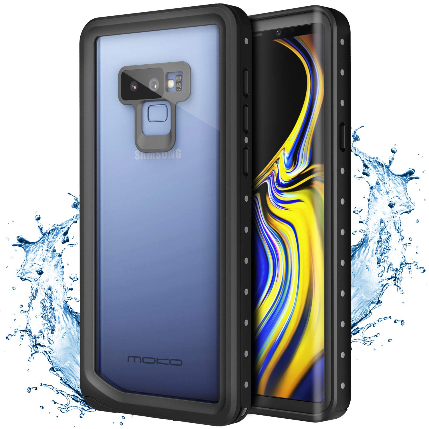outlet store 7e29c cc53c Details about MoKo Ultra Protective Case Built-in Screen Protector for  Samsung Galaxy Note 9