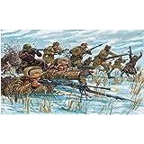 Italeri - I6069 - Maquette - Figurine - Infanterie Russe Renue Hivernale - Echelle 1:72