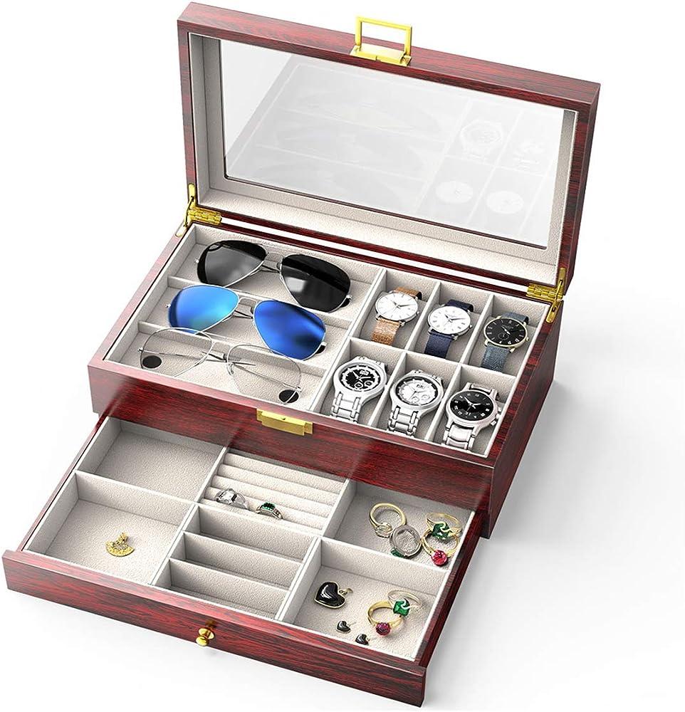 CRITIRON Caja para Relojes, Porta Relojes, Joyas e Gafas ...