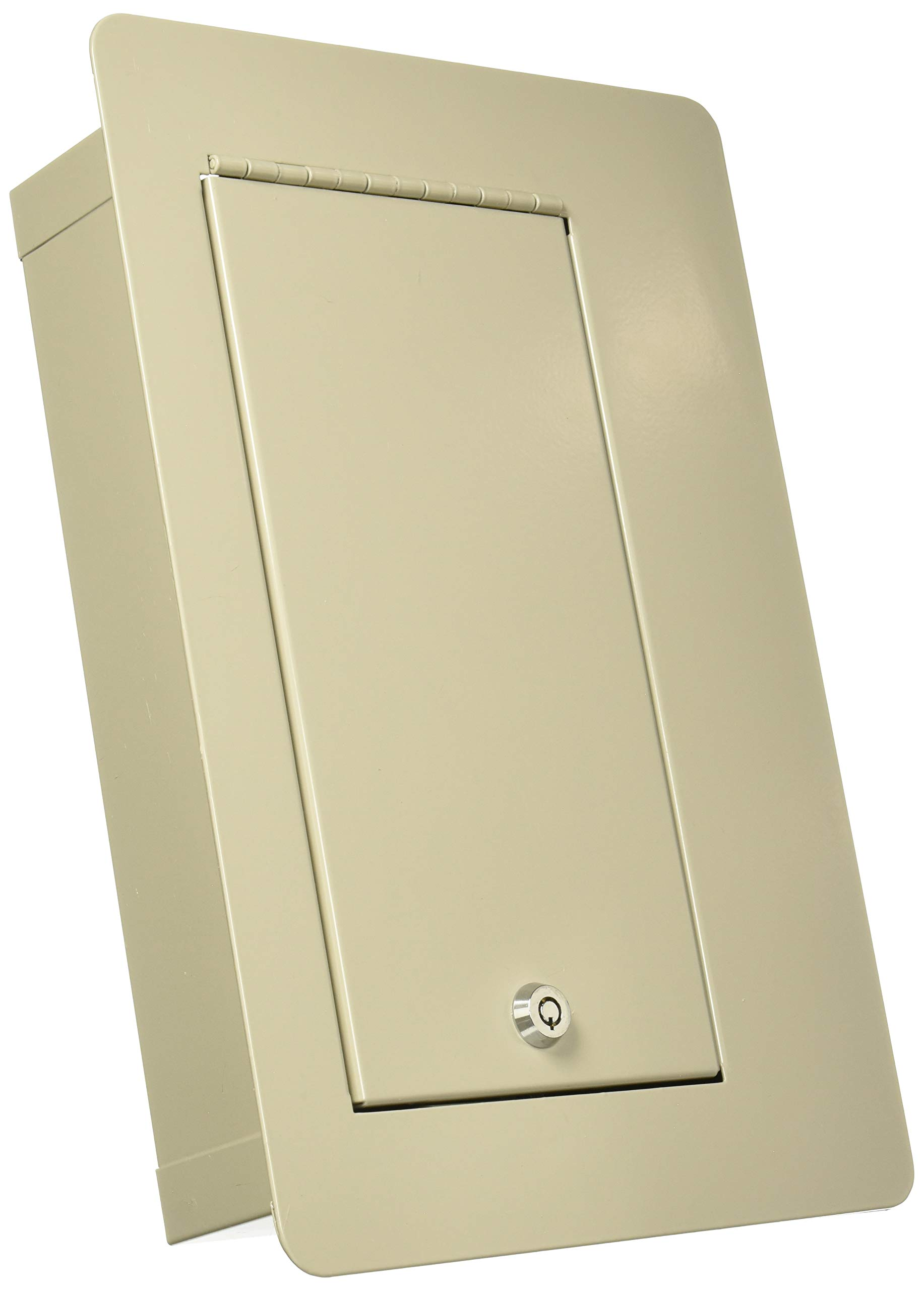 Buddy Products Economy Wall Safe, Steel, 3.75 x 9 x 9.375 Inches, Putty (3105-6) by Buddy Products