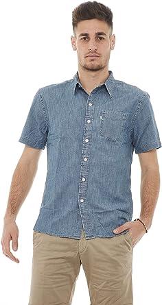 Levis S/S Sunset 1 Pkt Shirt - Camisa para Hombre: Amazon.es ...