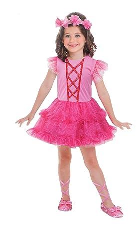LIRAGRAM Disfraz Bailarina 3 a 6 años: Amazon.es: Juguetes y juegos