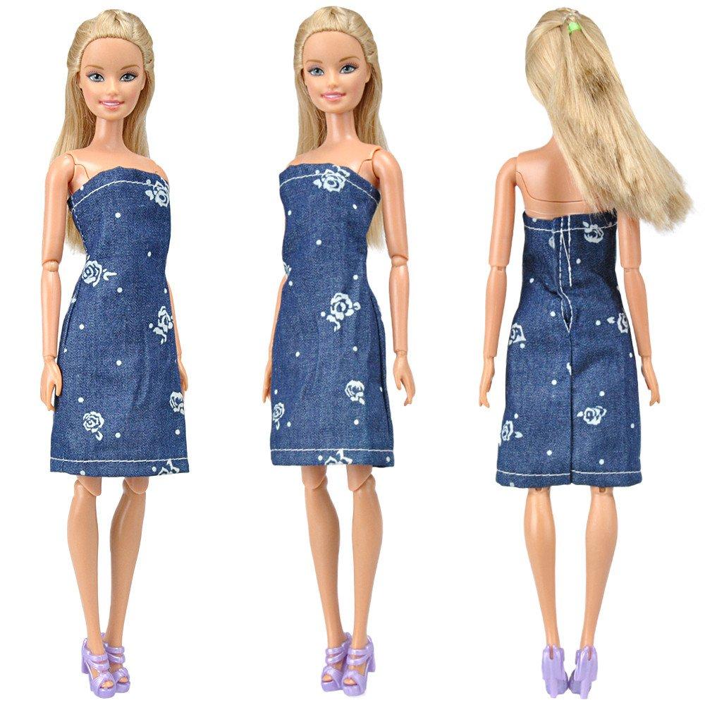 Amazon.es: E-TING vestidos 1 PC hermoso vestido del dril de ...