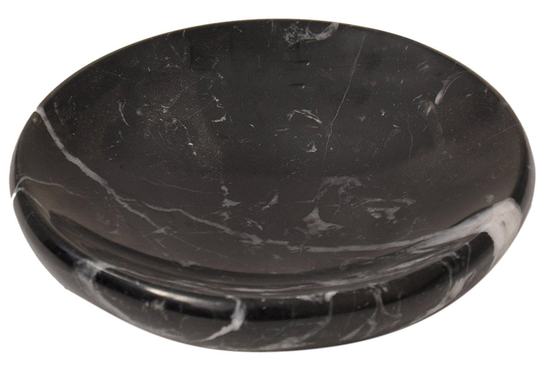 Round Handmade natural stone Marble soap dish diameter 4.5 inch 11 cm