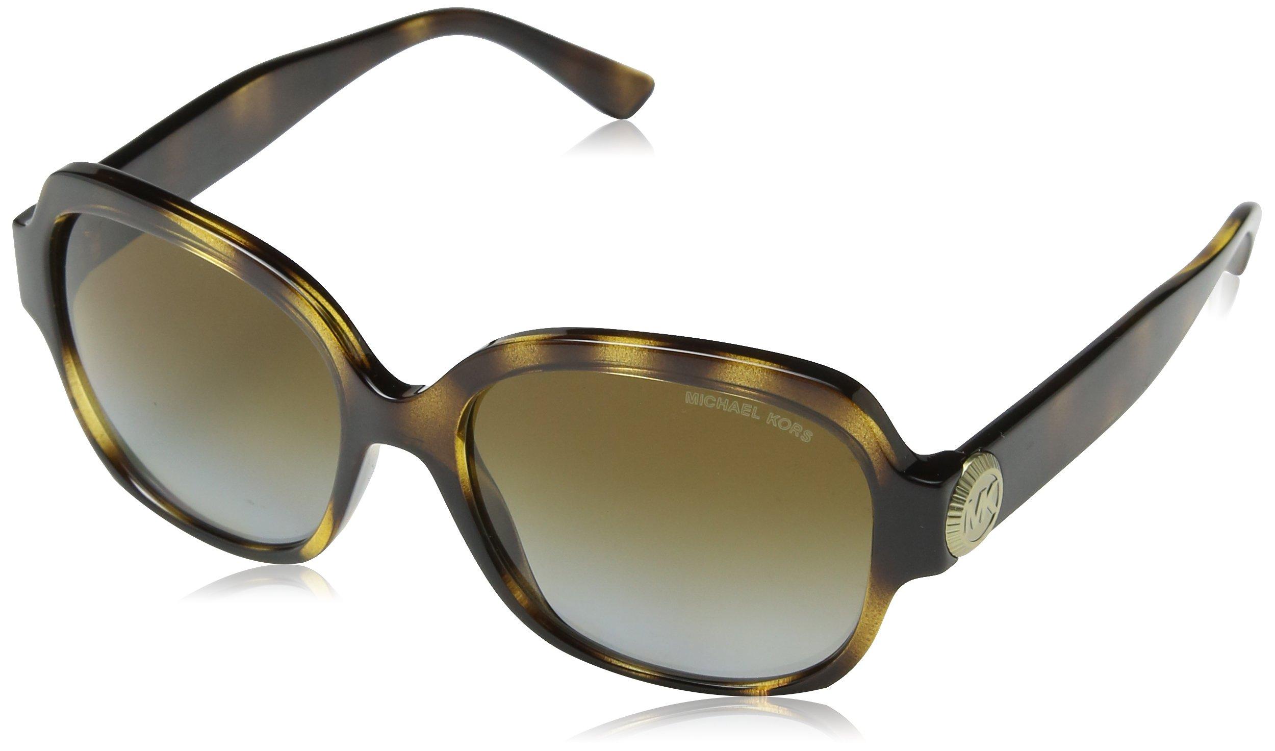 Michael Kors Men,Women MK2055 56 SUZ Tortoise/Brown Sunglasses 56mm by Michael Kors