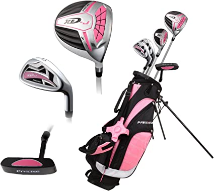 Amazon Com Top Performance Premium Junior Golf Club Set For Age 6 8 Right Hand Left Hand Boys And Girls Sports Outdoors