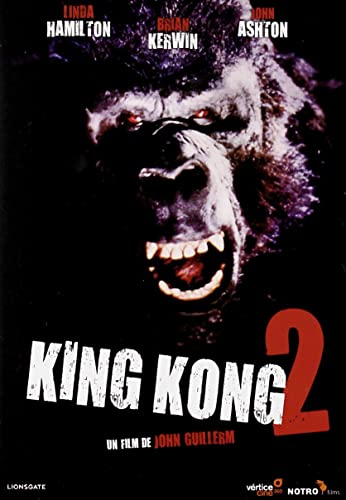 King kong 2 [DVD]: Amazon.es: Brian Kerwin, Linda Hamilton, Peter Elliott, John Ashton, George Yiasoumi, Peter Michael, John Guillermin: Cine y Series TV