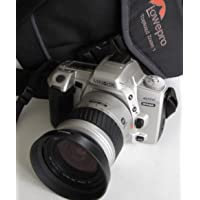 Minolta Dynax 404si – SLR Camera inclusive Minolta AF Zoom 28 – 80 mm 1: 3.5 (22)-5.6 incl. di alta qualità Lowepro foto tasche # # # Ingegneria – Ok – by lll Group # # #