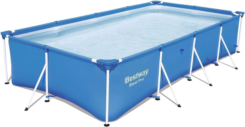 "Bestway Steel Pro 13' x 7' x 32"" Rectangular Above Ground Swimming Pool"