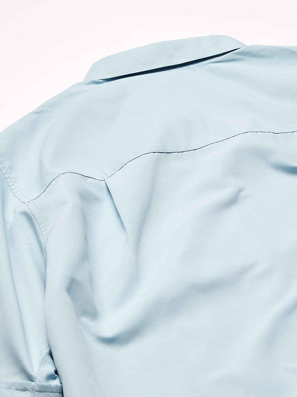 Cubavera Mens Big and Tall Big /& Tall Geometric Print Pintuck Panel Shirt