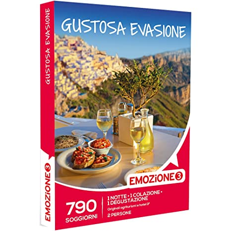 EMOZIONE3 - Cofanetto Regalo - GUSTOSA EVASIONE - 790 gustosi ...