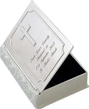 Personalisierte Bibel Schmuckkästchen Ideales Geschenk Zur