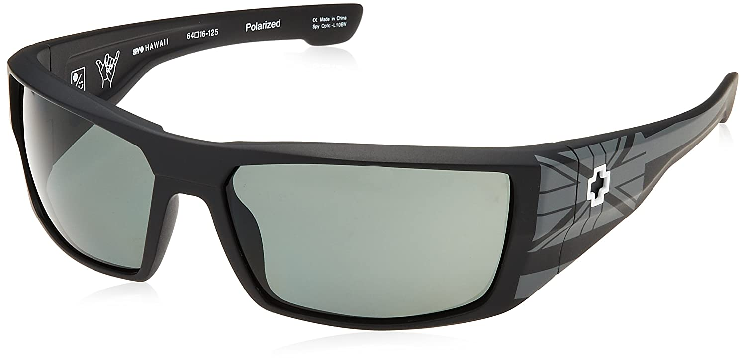 Spy Sonnenbrille DIRK 2015 hawaii, happy gray green polar, 182052782864