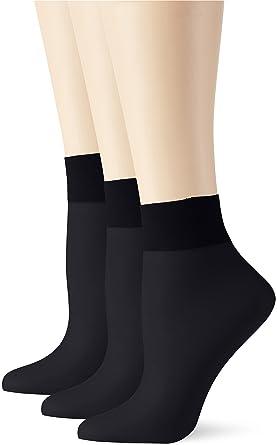 Womens Socks, 20 Den pack of 3 Elbeo