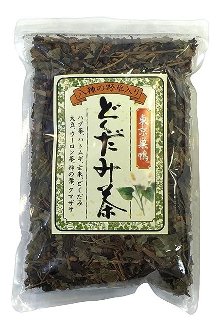 巣鴨のお茶屋さん山年園 どくだみ茶 大容量 350g