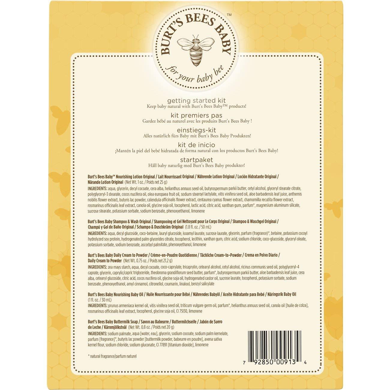 Amazon.com: Burts Bees Beauty Gift Set, 00913-24, Amarillo ...