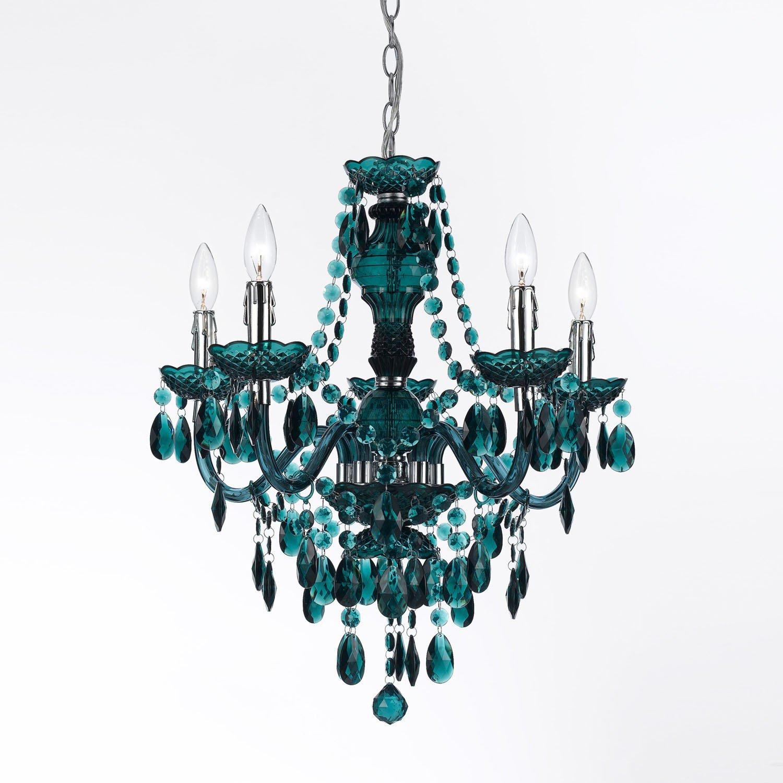 Green AF Lighting 8525-5H Fulton 5 Light Chandelier