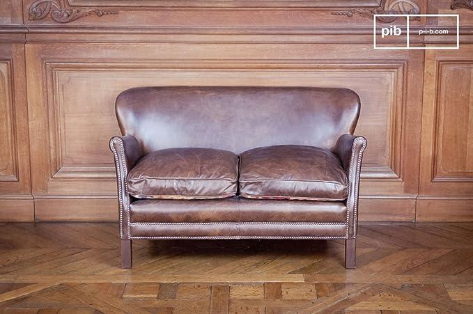 Chehoma pib - Sofás - Sofá de Cuero de diseño Industrial ...