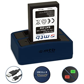 Batería + Cargador doble (USB) para BLS-5, BLS-50  