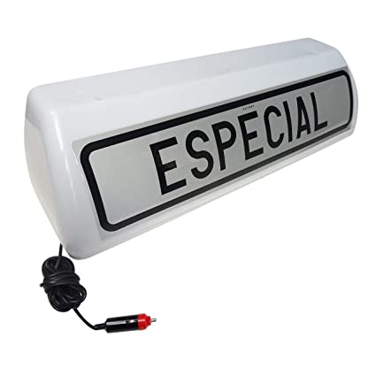 Señal de transporte homologada V-21 especial luminosa cartel ...
