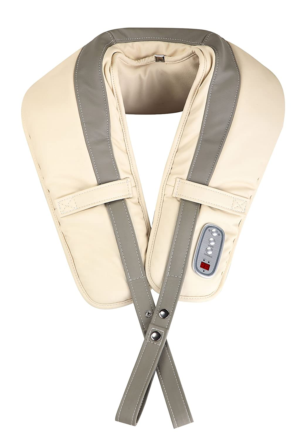 Ampersand Shops Portable Electric Soothing Shoulder Flap Belt Massager Relief for Neck Back Lumbar Buttocks and Leg Muscle Aches Tension and Stress 141[並行輸入] B07K8XGGQF