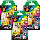 Fujifilm Instax Mini Instant Rainbow Film