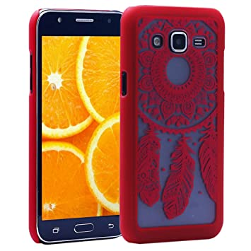 Galaxy J5(2015) Funda Rigida,Asnlove Cover y Carcasa Plastica Rígida PC Dura Ultra Fino Transparente Protectiva Funda Tapa Trasera Patrón para Samsung ...