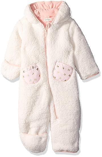 Amazon Com Jessica Simpson Baby Girls Sherpa Pram Clothing
