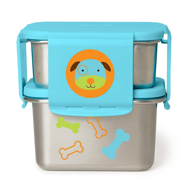 Skip Hop Stainless Steel Toddler Lunch Kit, Dog