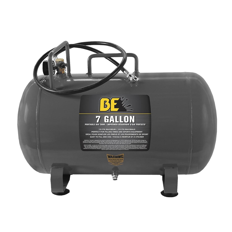 BE Pressure 67.000.700 7 Gallon Portable Air Tank, 125 PSI