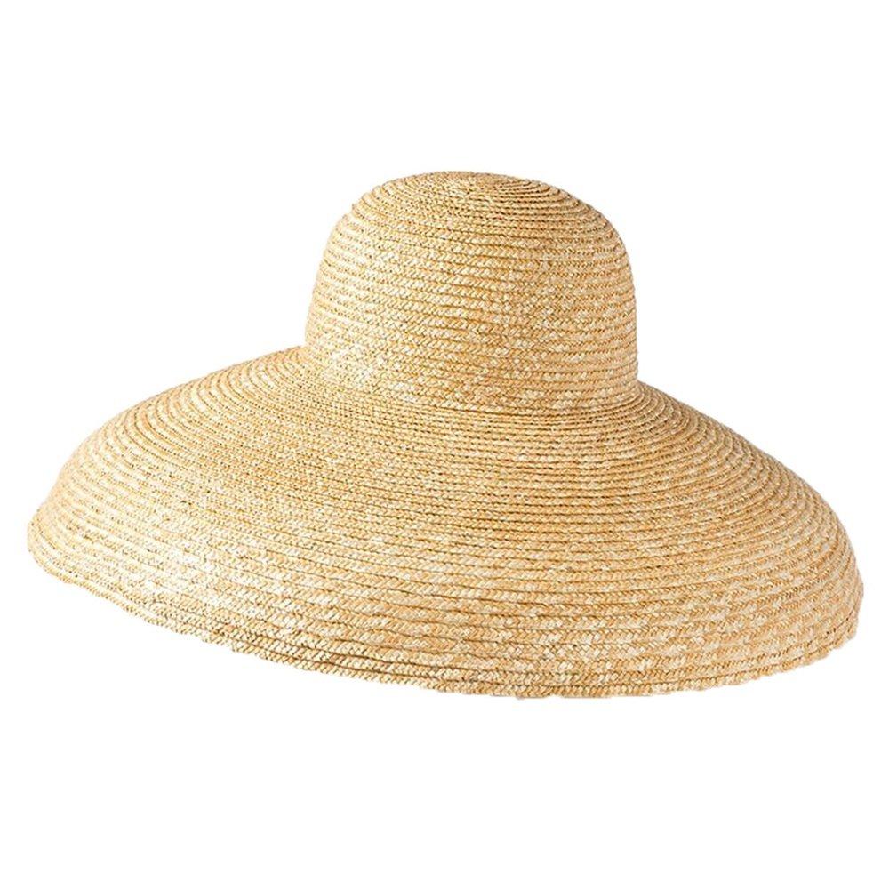 Shuo lan hu wai Frauen Hut Bowler-Hut und Strohhut aus Strohhut sind Sonnenbaden und Sonnenbaden.