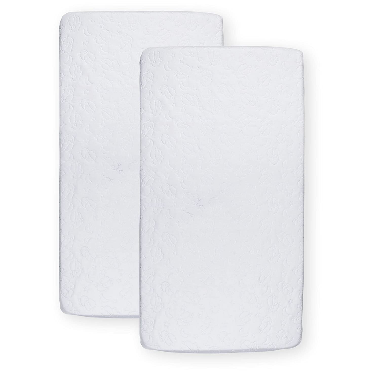 Amazon.com: Koala Baby Essentials Fitted Crib Mattress Cover 2 Pack: Home & Kitchen