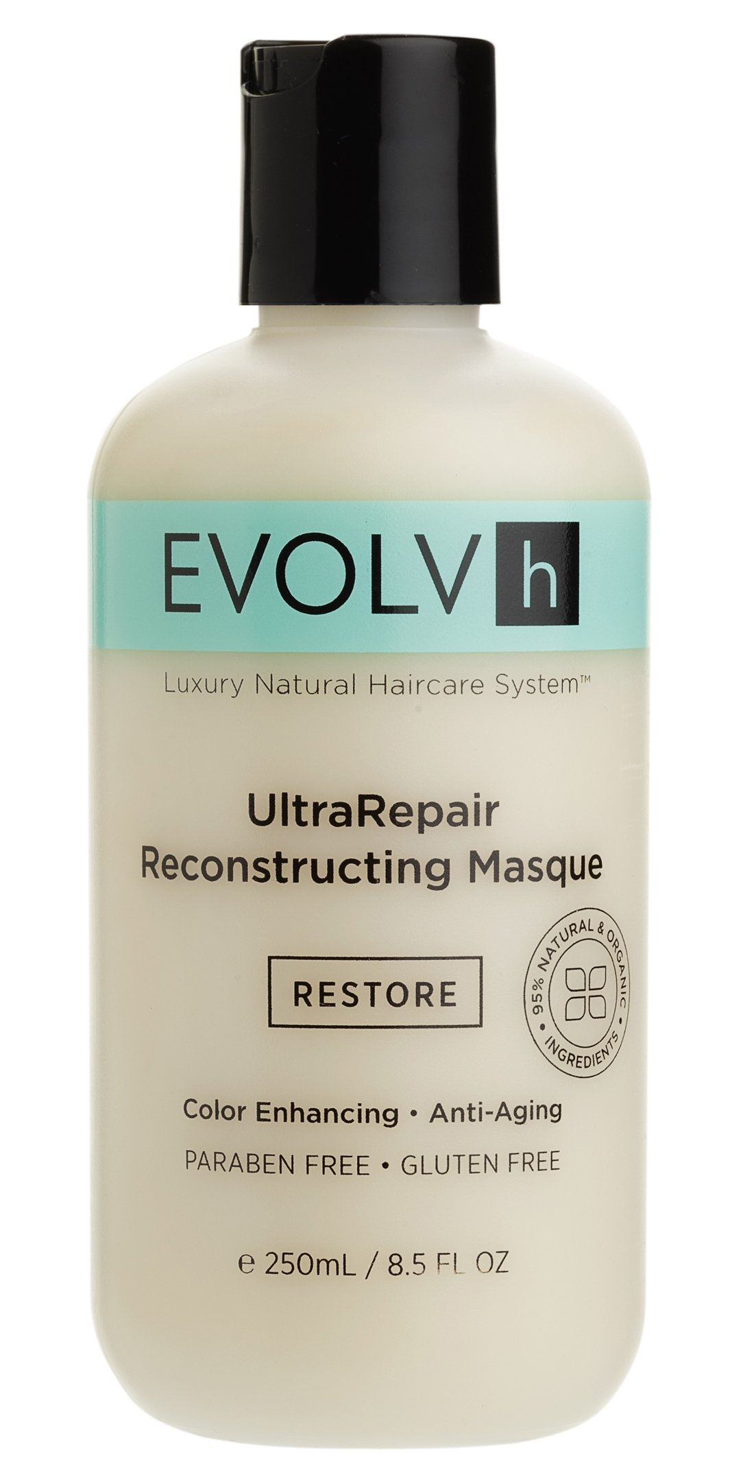 EVOLVh - Organic UltraRepair Hair Masque (8.5 oz / 250 ml)
