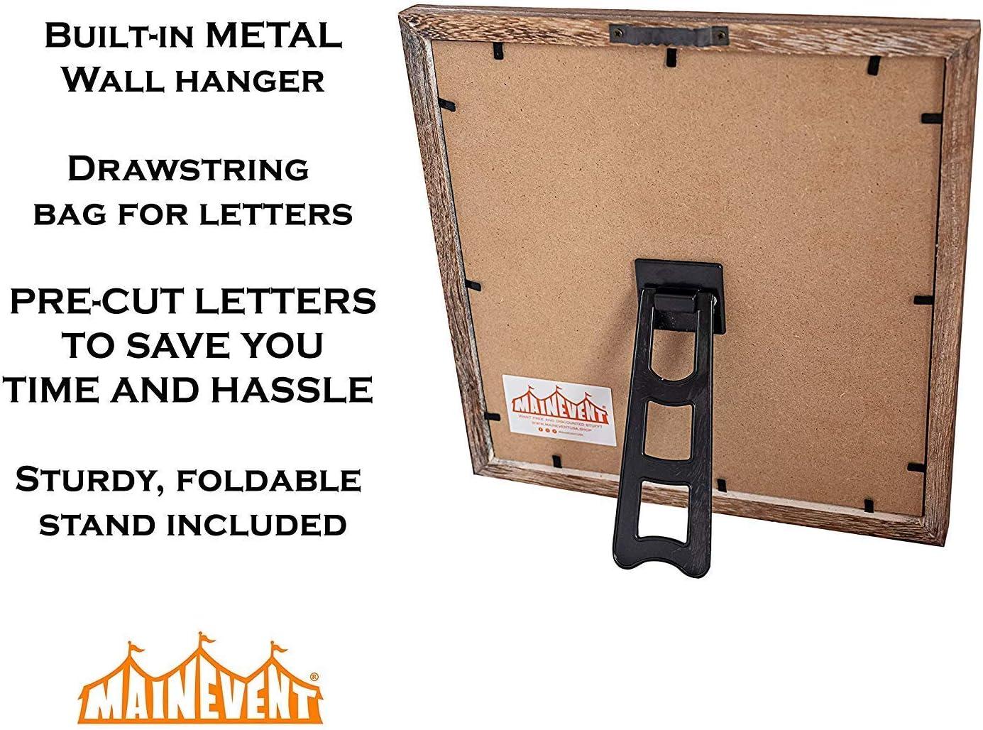 color negro Design Letters Tablero de notas para el hogar y la oficina tama/ño mediano tama/ño A3
