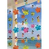 Hawaiian Hula Girls String Decoration - Pack of 6
